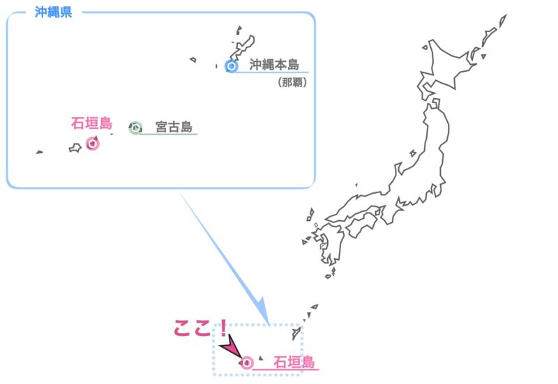 石垣島の場所