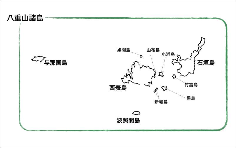 八重山諸島とは