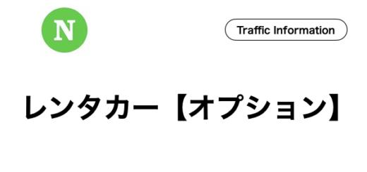 石垣島,レンタカー,オプション