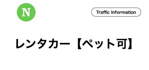 石垣島,レンタルカー,ペット可