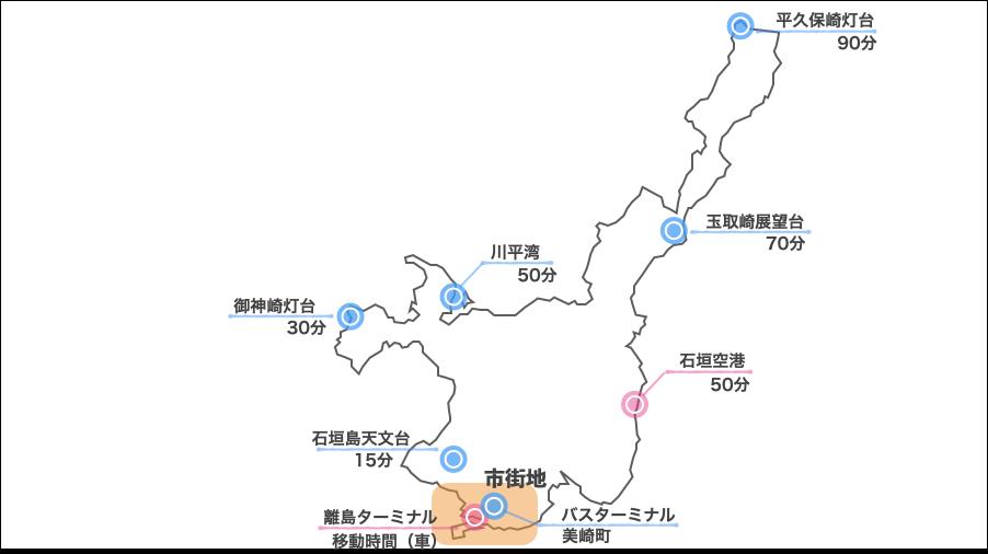 市街地レンタカーマップ