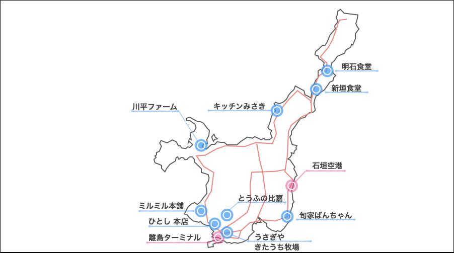 石垣島,レンタカー,グルメ