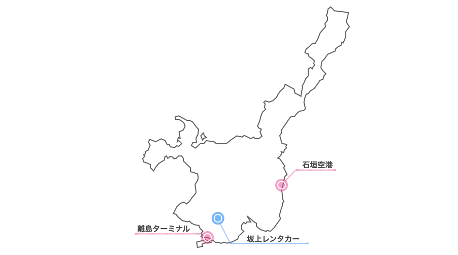 坂上レンタカー地図