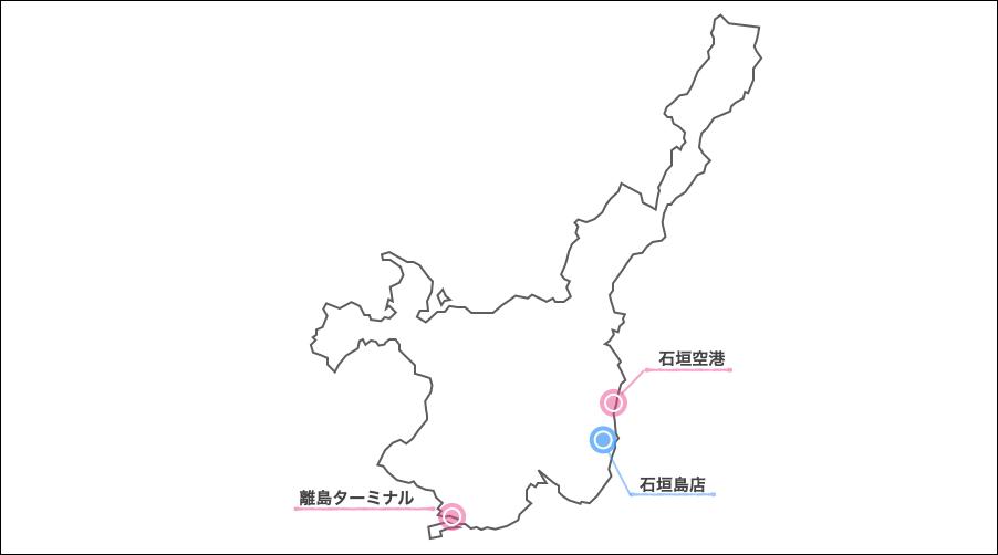石垣島スカイレンタカー地図