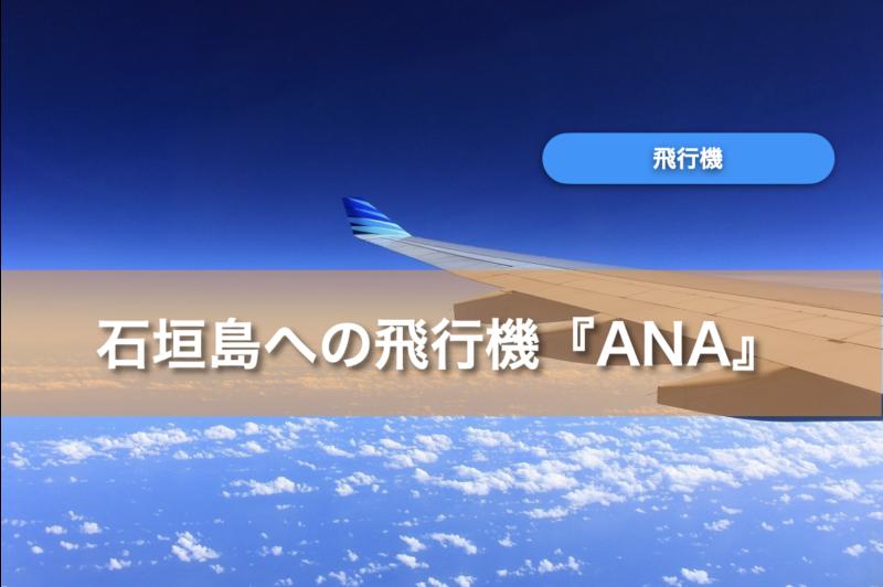 石垣島行きANAの飛行機に安く乗るには?ルートと料金を徹底解説