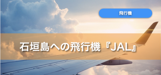 石垣島 飛行機 jal