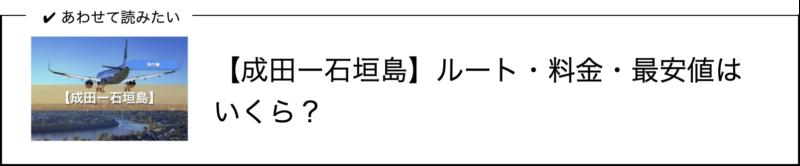 成田ー石垣島