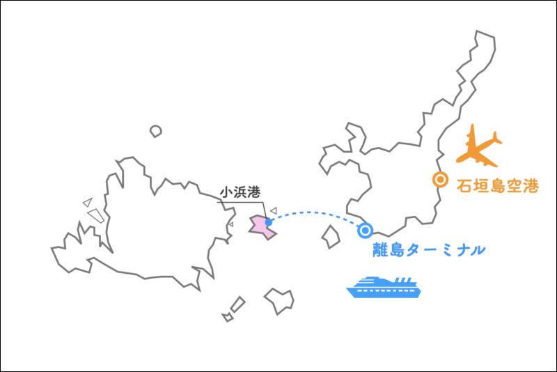 小浜島 フェリー
