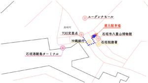 蔵元駐車場 地図