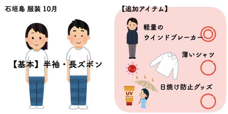 石垣島 服装 10月