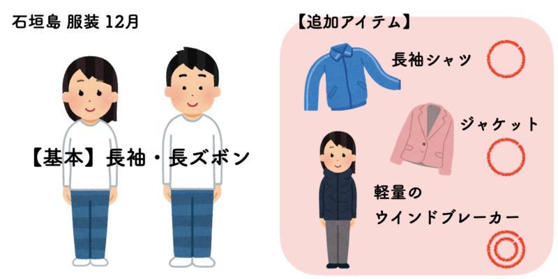 石垣島 服装 12月