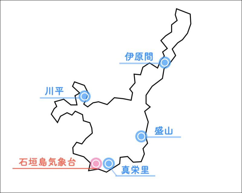 石垣島 天気 雨雲レーダー
