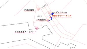 竹富タウンパーキング 地図