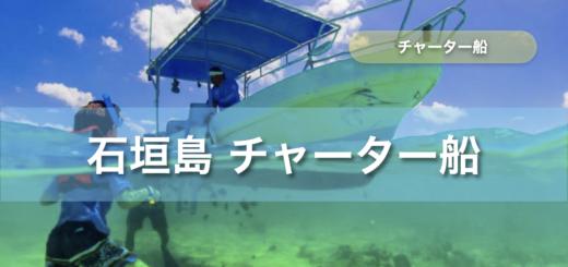 石垣島 チャーター 船